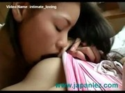 Intimate Romantic Kissing Love Japanese Girls Lez