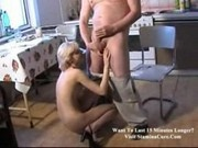 Brenda - Fucked by old dude at the kitchen-1