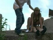 Two Guys Fuck A Pretty Young Girl