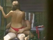 Hot BackYard Fuck