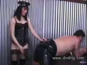 's a lucky slave when mistress kate mandala teaches him subm