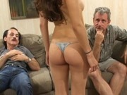 Jackie Ashe Threesome with older guys