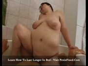 Chonga Bronson - Tooth missing BBW gets fucked in bath