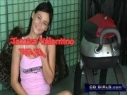 Monkey rocker sex machine ride from cute amateur