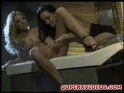 Two horny lesbians Michelle Lay-Lexi Lamour