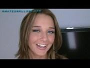 Teen Beauty Swallows Cum