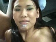 Veronica Fucked at the back seat