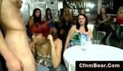 Cfnm girls suck hung stripper at cfnm party