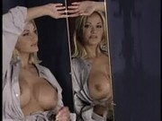 Stacy Valentine shows off her body in a dressing room