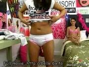 Brandi Belle shows off pussy