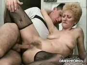 Granny  Fucked In Restaurant Kitchen xLx
