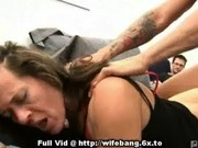 Wife Drilled From Behind