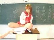 Schoolgirl Gets Gangbanged