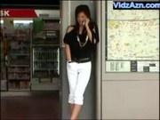 Japanese Girl Masturbating in Public