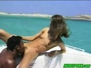 German Teen Fucking Black Guy On Boat