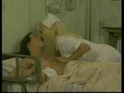 two horny nurses fucking very hardly with patient in hospita