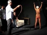 Warning - girl is whipped hard