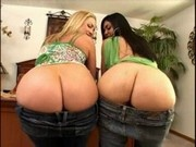 Massive booty hotties Flower Tucci and Olivia O'Lovely