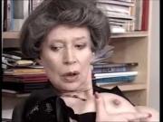 German Granny Loves Fist and Cum