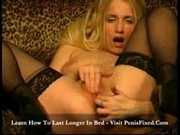 Vean striping longhaired blonde rubbing