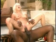 Linda Thoren with Lexington Steele