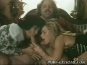 Black Dwarf Is Helping His Master To Fuck Two Slaves