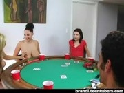 College Poker Party