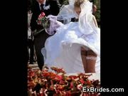 Real brides voyeur porn!