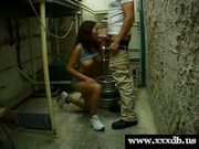 Mickey nice tits gets fucked by delivery boy