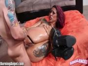 BurningAngel Big Ass Punk Babe Oiled and Analed