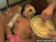 Teen Tied Up And Disgraced