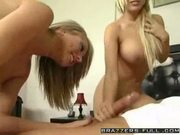 Hot blondes shawna lenee and kagney linn karter in a threeso