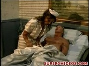 Horny nurse Cherie seducing her patient