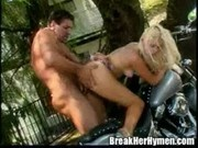 Beautiful Sarah had to get a big cock in her pussy at Break Her Hymen