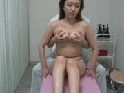 Spycam wife forced massage orgasm