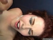 Mae Victoria Fills Her Ass With A Hard Cock - DMilf