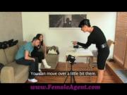 FemaleAgent Jealous casting won039t share her fiance