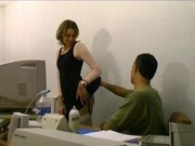 Horny french schoolgirl fucked by her teacher