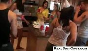 Real slut orgy - surprise birthday