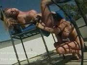 Amanda and charice - Two hot women having fun in the sun2
