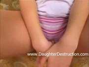Daddys little daughter fucked hard