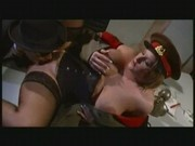 Jane Bomb - Blonde Busty Soviet Officer sex