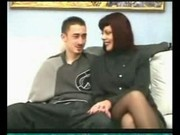 Hot couple on fire