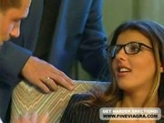 Sexy Secretary Karen Lancaume Hardcore Anal Scene With Two G