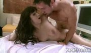 Hot big tit april gets wet lusty massage7