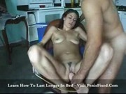 Karita - stuffed with giant dildo