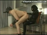 Four series of extreme femdom strap-on