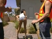 Tory Fucks Two Construction Workers - Big Butts Like It Big