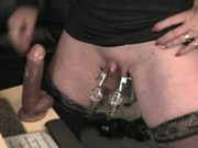 Amateur Home-Made - Huge Clit - Big Nipples