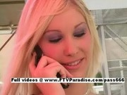 Kristina from ftv girls, teen blonde flashing